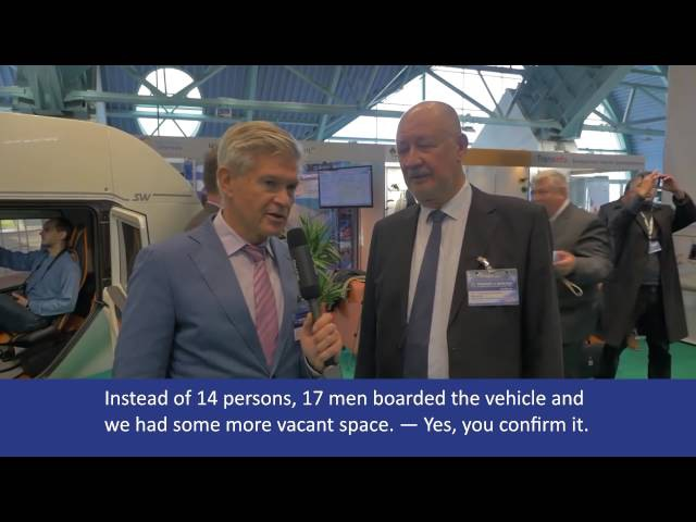 Belarusian transport week interview with Anatoly Yunitskiy