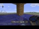 Minecraft. Строим дом в стиле хай-тек с бассейном и гаражом. Часть 2.