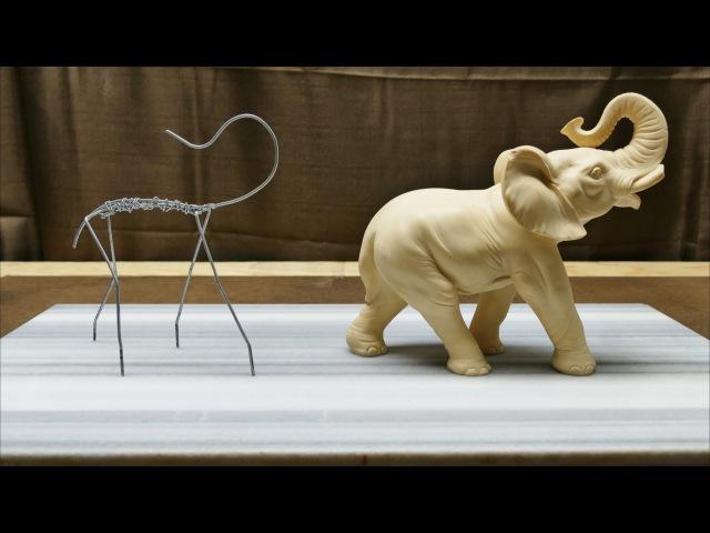 Sculpting an Elephant part 1 Armature