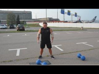 Тюкалов Алексей и гантели Инча 78 кг. Анонс. | Alexey Tyukalov & Inch Dumbbells