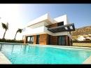 Качественная Hi Tech вилла в Испании в Сьерра Кортине недвижимость в Испании 2017 года в Бенидорме