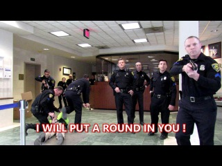 Felony Arrest For Filming- Dearborn Police Station Video
