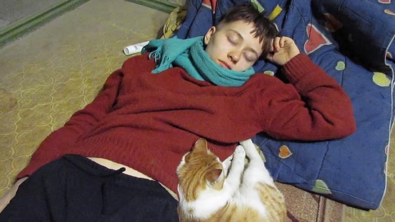 Кролик Блэк спит с Чистяком