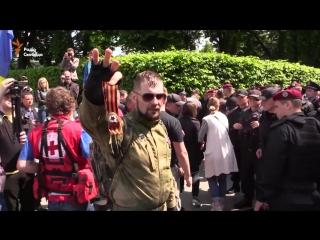 Колорадская лента в Киеве 09.05.2016