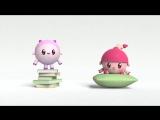 Малышарики - Умные песенки - Твёрдое и мягкое _ Учим формы с малышом