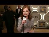 Isabelle Huppert - Golden Globe Awards | Изабель Юппер