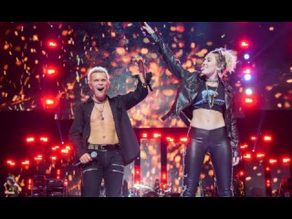 Miley Cyrus, Billy Idol - Rebel Yell (Live from iHeartRadio Festival 2016)
