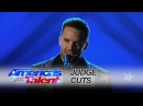 Brian Justin Crum: Singer Captivates the Audience With Radiohead Cover - America's Got Talent 2016