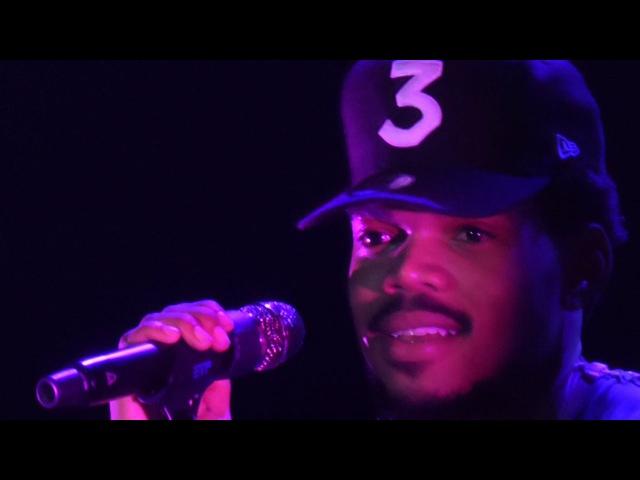 Chance The Rapper - Same Drugs [Live at 013, Tilburg - 17-11-2016]