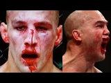 Два бойца устроили кровавою рубку в клетке! Робби Лоулер vs. Рори Макдональд