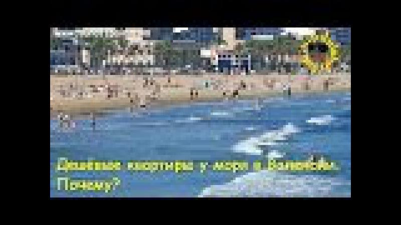 Дешёвые квартиры у моря в Валенсии. Почему?