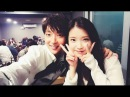 Behind the scene Jun Ki IU cute moments I Moon Lovers Scarlet Heart Ryeo