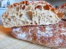 Чиабатта простой рецепт Ciabatta simple recipe