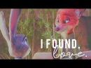 Nick Wilde Judy Hopps I Found Love Zootopia MV