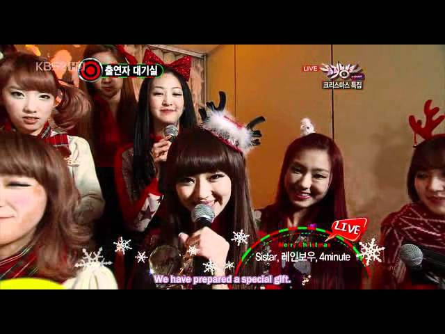 [ENGSUB] SISTAR wins K-Chart with How Dare You! кфк
