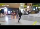 Появилось видео катания лихача по терминалу аэропорта Казани