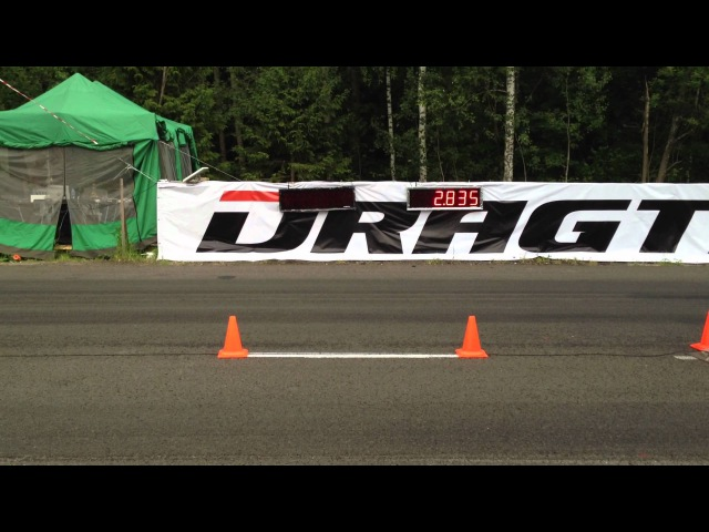 Nissan GT-R AMS Alpha 12 - 1 mile - 23.928 sec.\ 360.00 kmh