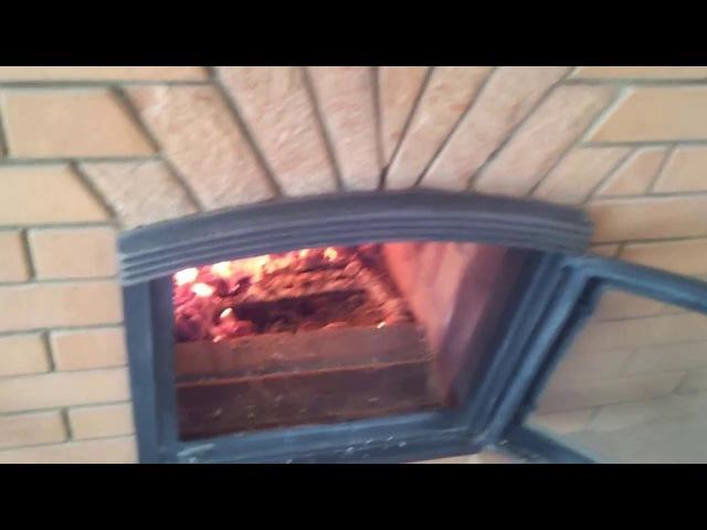 Часть2 Эксплуатация КОЛПАКОВОЙ ПЕЧИ в доме 115 кв м горение активное с ЭНЕРГОКАПСУЛОЙ 3 часа