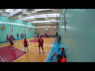 Командор vs Взбитухи, Волейбол турнир 4+2 - 2017/01/15