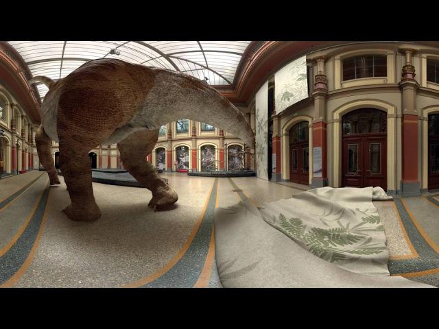 Google оживил динозавров 2d 3d to Life in Virtual Reality PreviouslyOnEarth