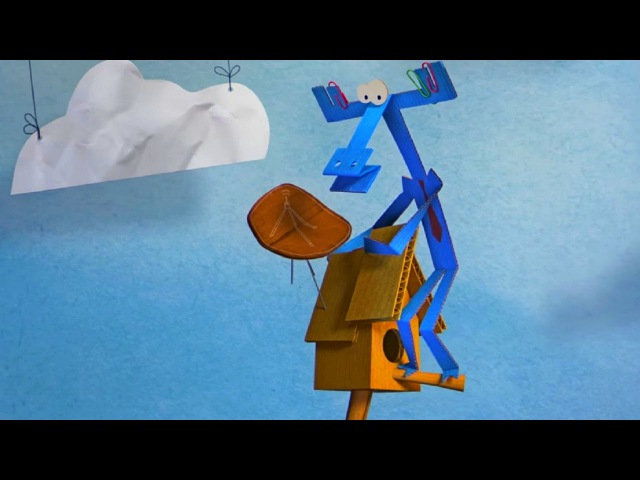 Бумажки - Лучший изобретатель - мультфильм для детей