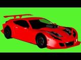 Akıllı Arabalar - Yarış arabası, Kamyon ve Vinç - Eğitici Çizgi Film - Video for Kids