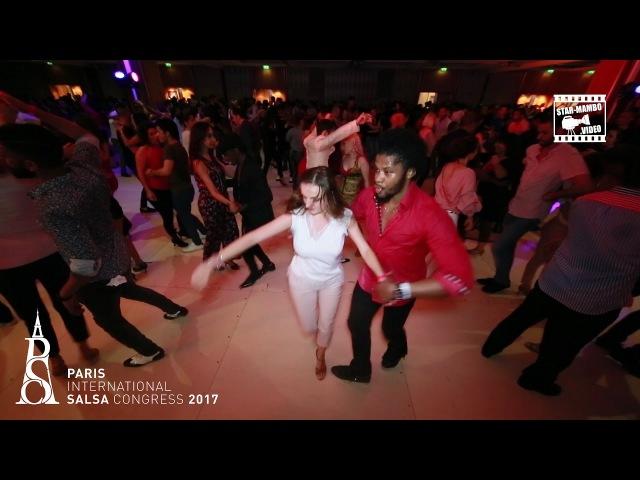 Terry SalsAlianza Nelly - social dancing @ PARIS INTERNATIONAL SALSA CONGRESS 2017 (PISC)