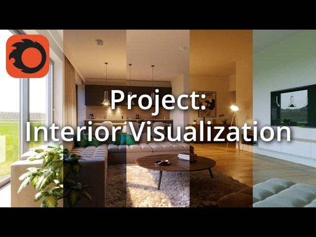 Complete Project - Interior Visualization 26 Initial setup