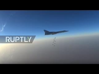 Syria: Russian bombers strike militant targets near Palmyra, Syria