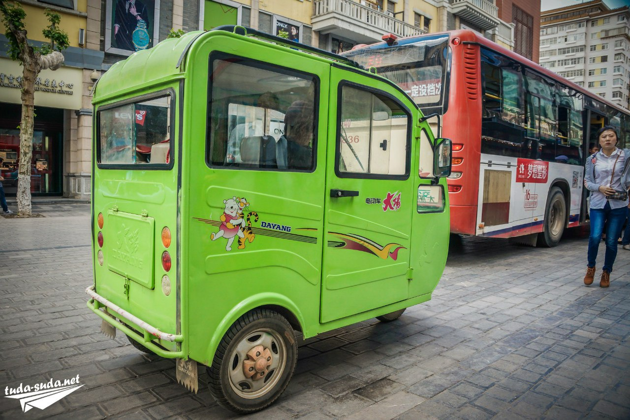 Китайский транспорт