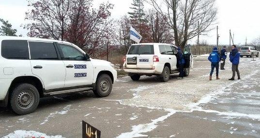 Армия Украины сбила беспилотник ОБСЕ