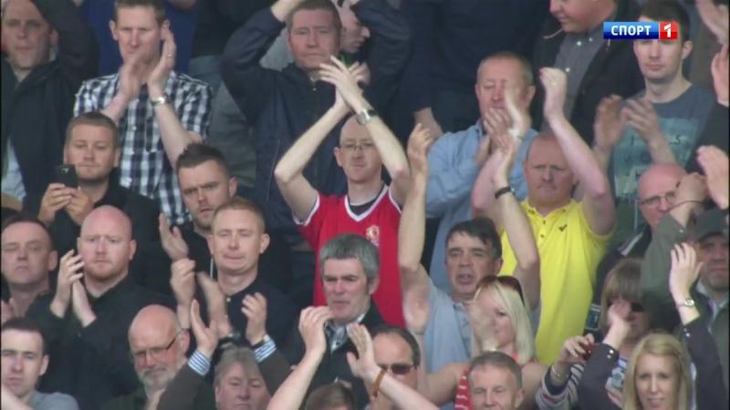 Чемпионат Англии 2012-13 / 38-й тур / Манчестер Юнайтед - Вест Бромвич Альбион / 2 тайм