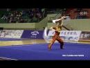 2016 Национальны Чемпионат Китая по ушу традиционный стили парные шуан гоу 7 место