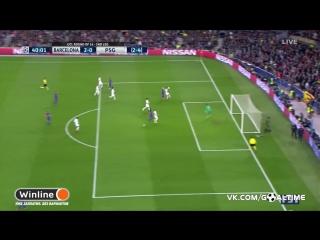 Барселона - ПСЖ 2:0. Левен Кюрзава (автогол)