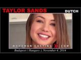 Taylor Sands  (Woodman Casting, anal, dp)