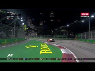 F1 2016. 15 Гран-при Сингапура. Гонка