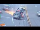 Ultra Vine Крупная авария на гонках NASCAR