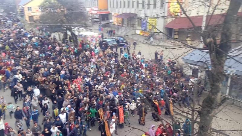 Театралізована Хресна Дорога. Перегінськ (22.03.2017)