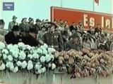 Парад войск армии ГДР, Берлин, 1956 г. Германия, кинохроника