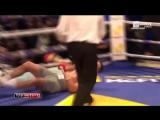 Решающий раунд боя Кличко - Джошуа