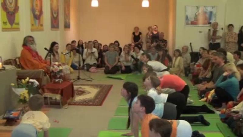 Детская йога. Семинар со Свамиджи. 06.04.2017