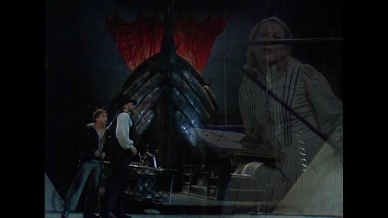 Der fliegende Holländer (Simon Estes, Matti Salminen, Lisbeth Balslev; Bayreuther Festspiele, 1985)