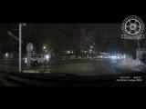 В сети появилось видео столкновения двух внедорожников в Калининграде