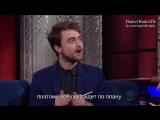 Посетил ночное ток-шоу на канале CBS — «Late Show» - 14 июня, 2016 год.