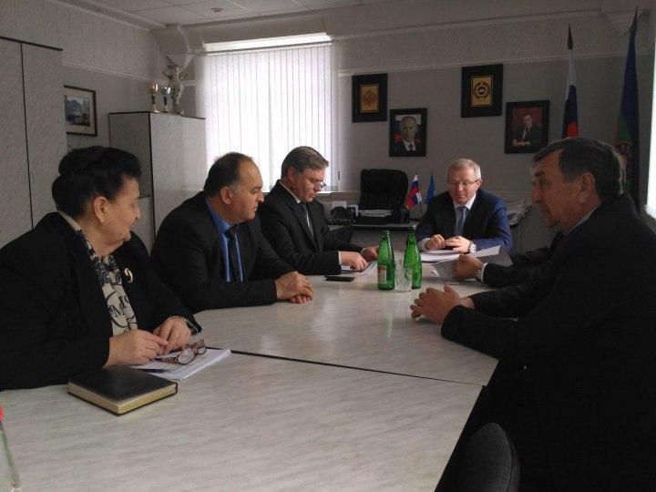Зеленчукский район посетил Председатель Правительства Карачаево-Черкесии