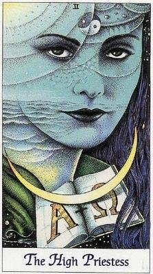 tarot the-priestess