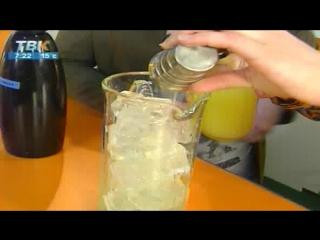 Лимонад клубника/базилик от Виталия Аршука