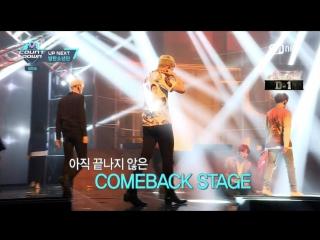 `VIDEO` 160512 Bangtan - Up Next (2) @ M!Countdown