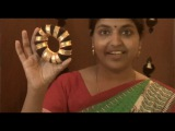 Complete tutorial on how to do traditional hairstyle for Bharatanatyam