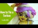 How to Tie a Turban Turban for bay Krishna